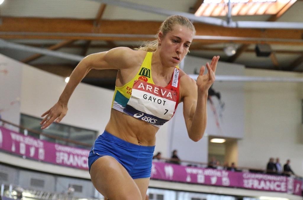 Marie Gayot l'emporte sur 400 mètres
