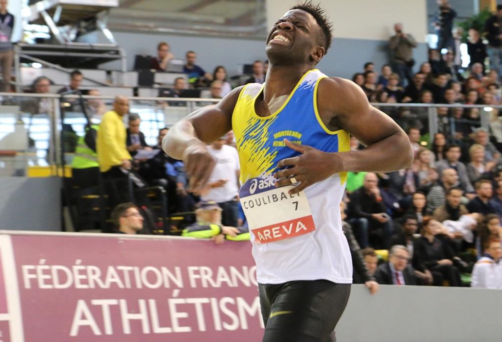 Toumany Coulibaly vainqueur du 400 mètres