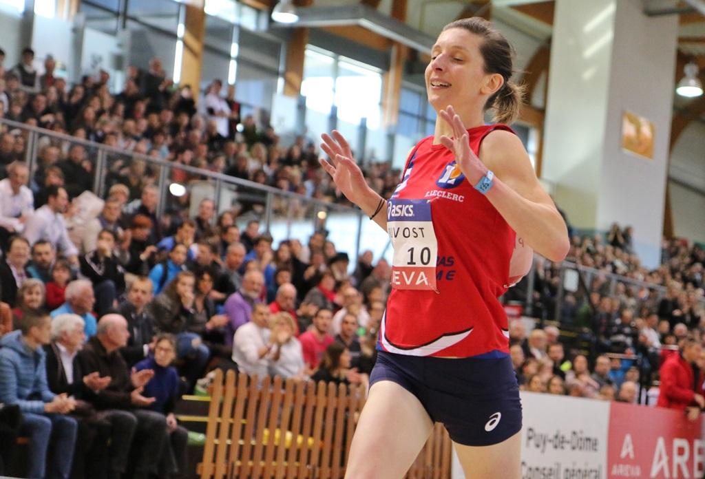 Fanny Pruvost s'offre le titre sur 3000 mètres