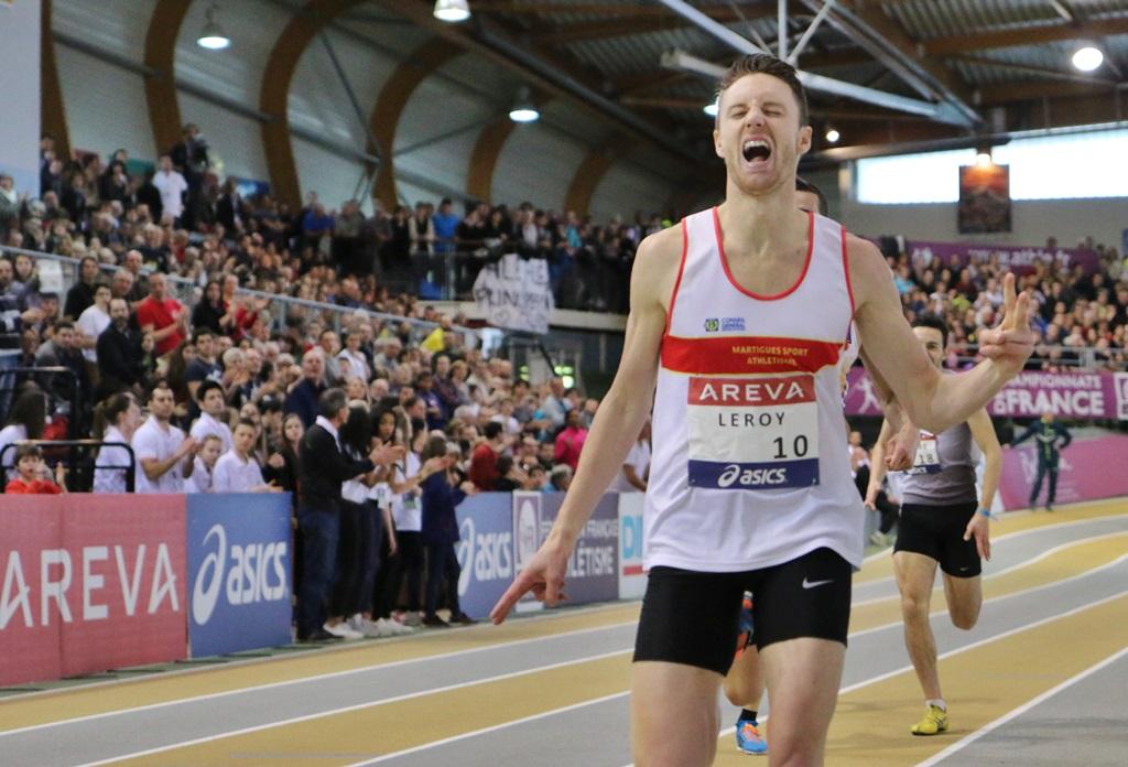 Brice Leroy vainqueur sur 800 m