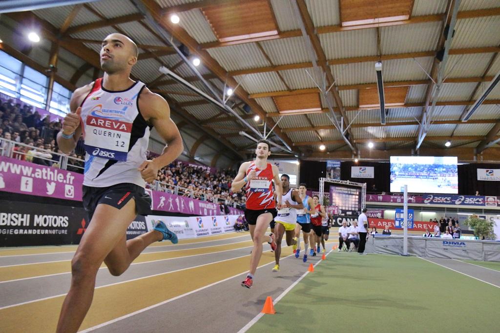 Gaël Quérin leader de cet heptathlon en salle
