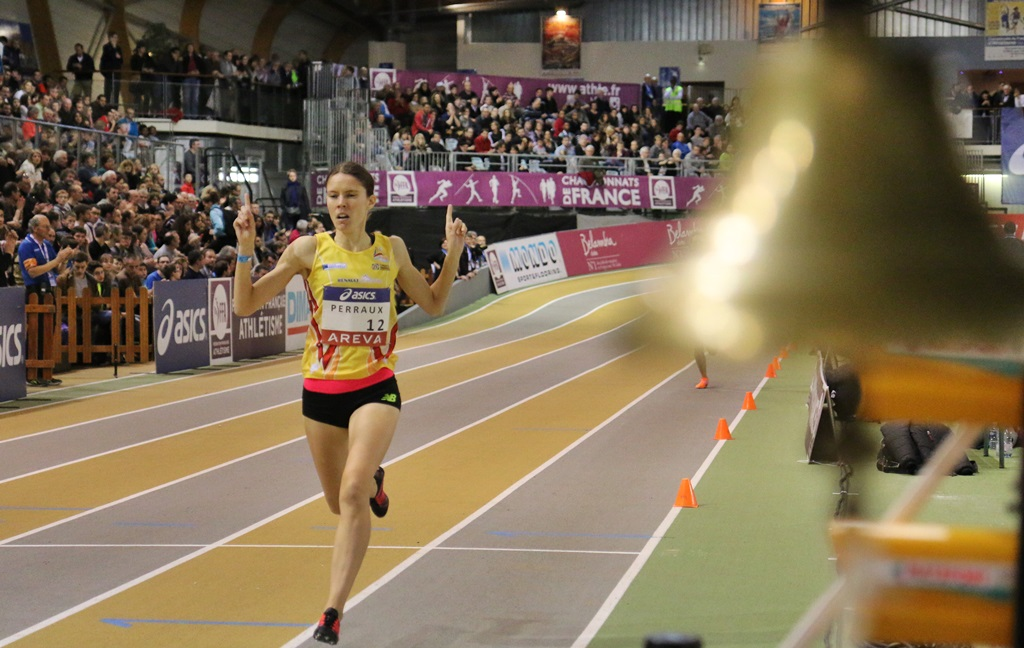 Claire Navez vainqueur du 1500 mètres
