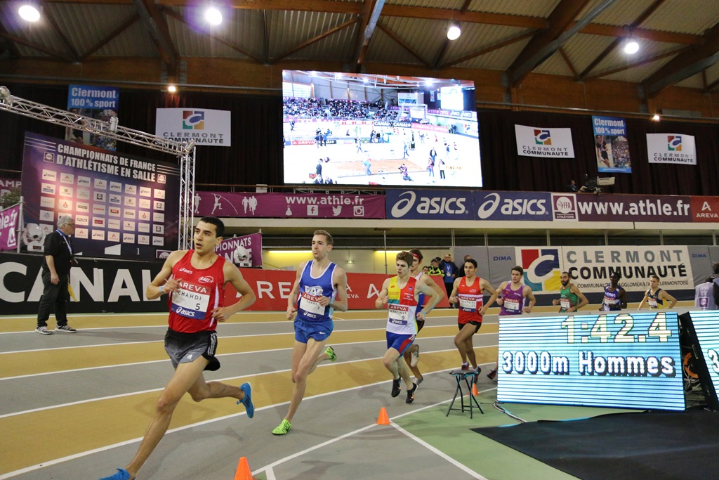 Hassan Chahdi mène sa troupe sur 3000 mètres