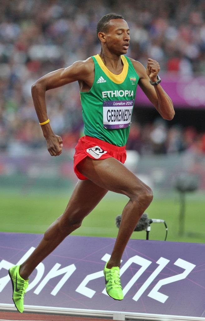 L'Ethiopien Mekonnen Gebremedhin, 6ème de la finale