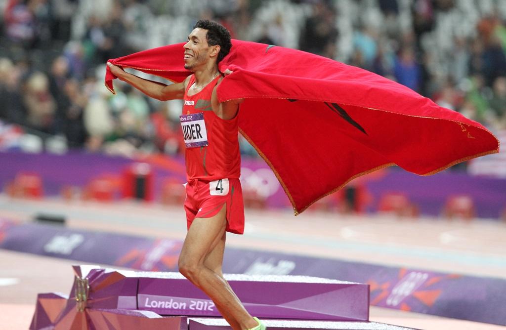 Abdalaati Iguider, médaillé de bronze