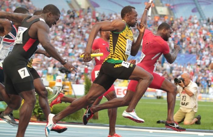 Analyse: Usain Bolt, l'avantage d'une foulée déséquilibrée?