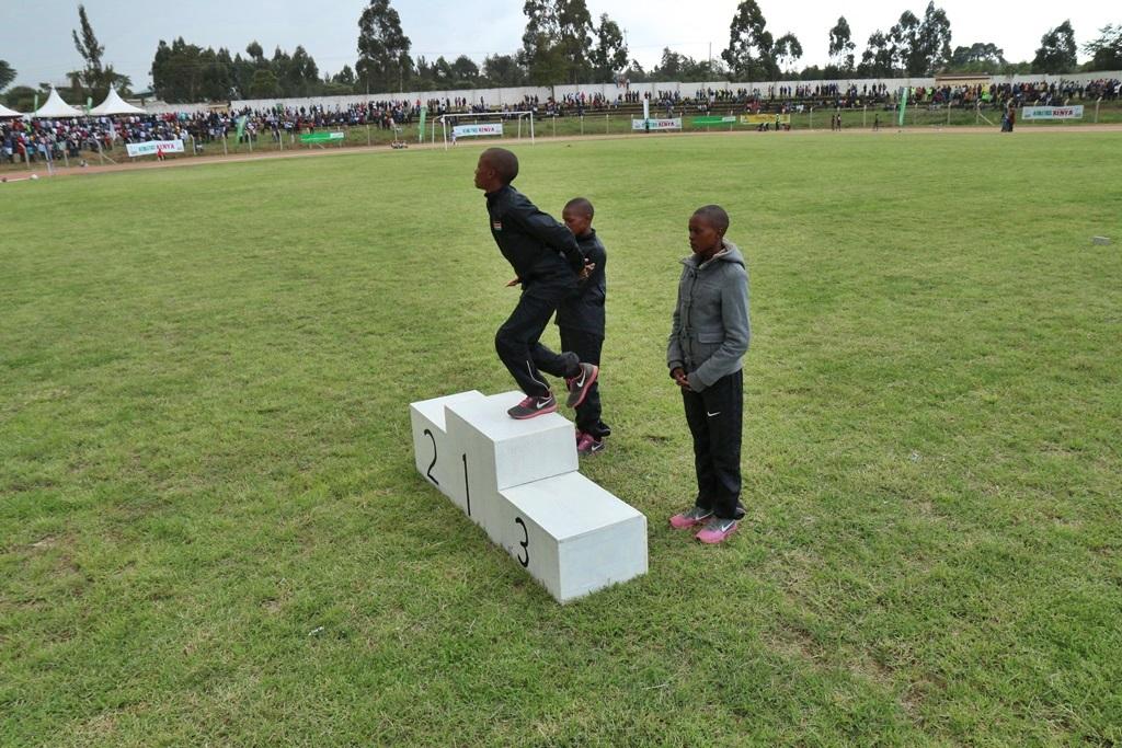 eldoret podium 5000