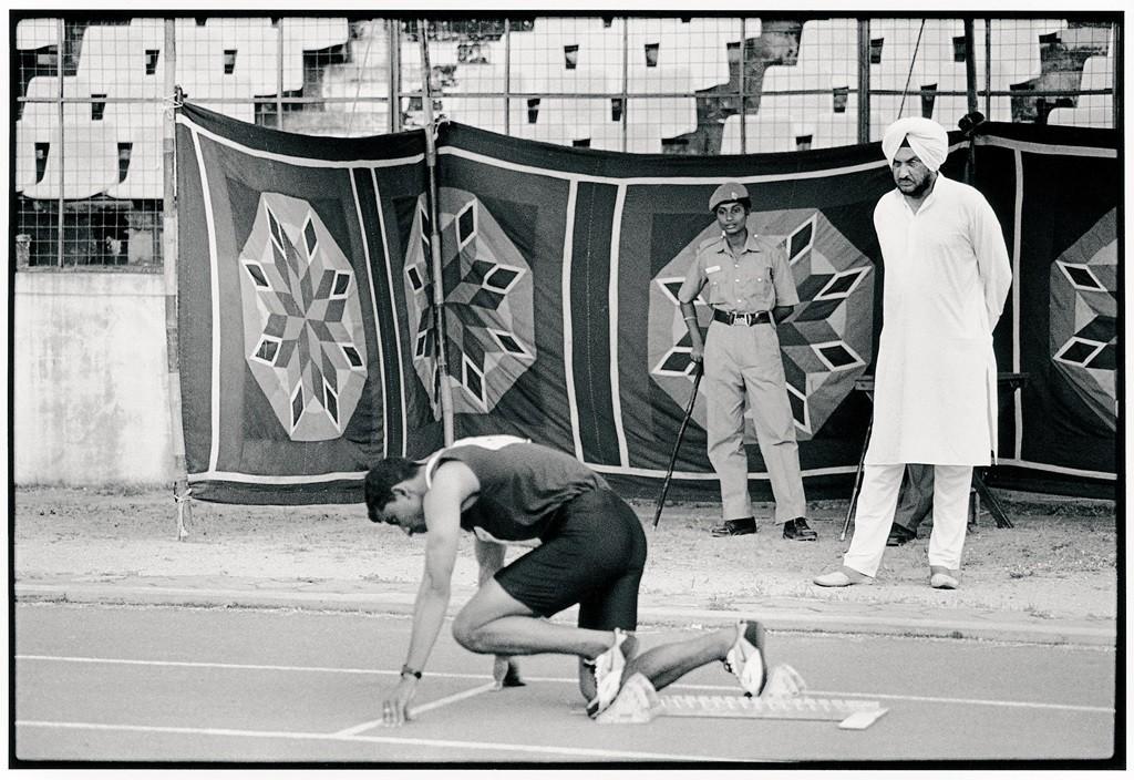 En 2004 à Chennai, les championnats nationaux, avec déjà l'ombre du dopage