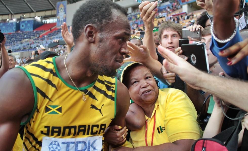 Bolt mère  tour d'honneur
