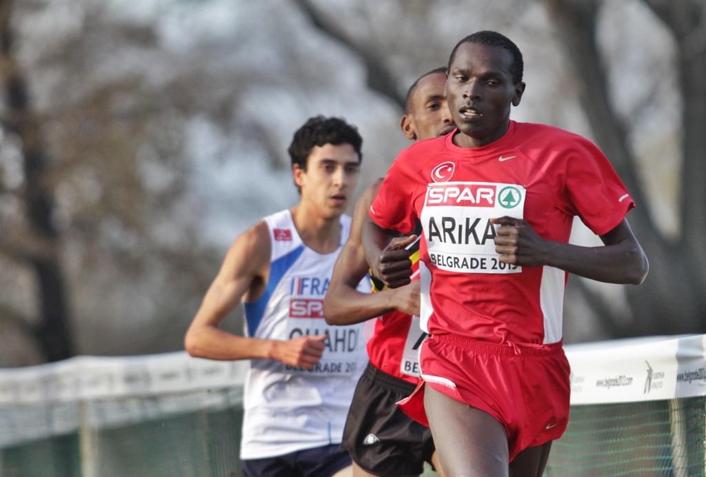 Kemboi Arika, champion d'Europe de cross, une belle mise en avant de la Turquie