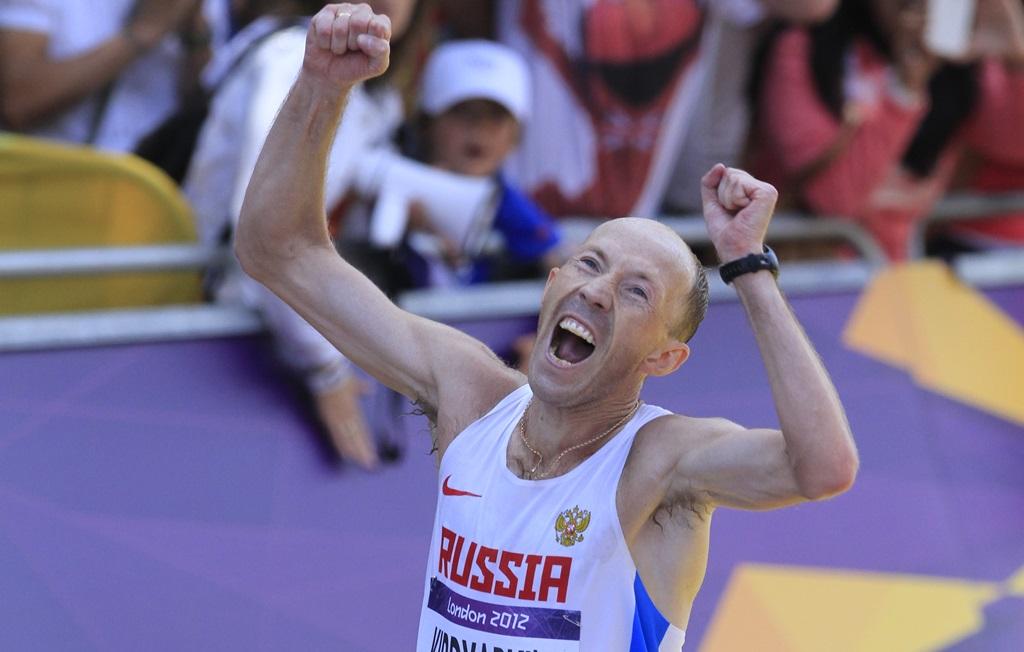 Viktor Kirdyapkin, des paramètres anormaux dès novembre 2011, et pourtant autorisé aux JO de Londres, où il remporte l'or