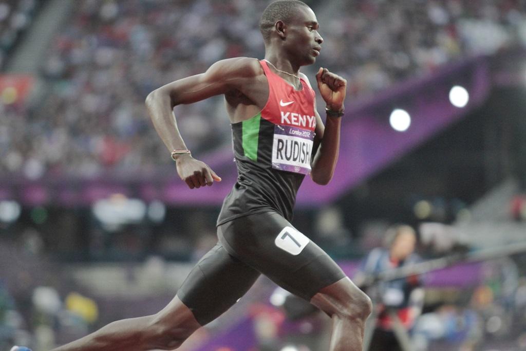 David Rudisha en route vers son record du monde à Londres en 2012