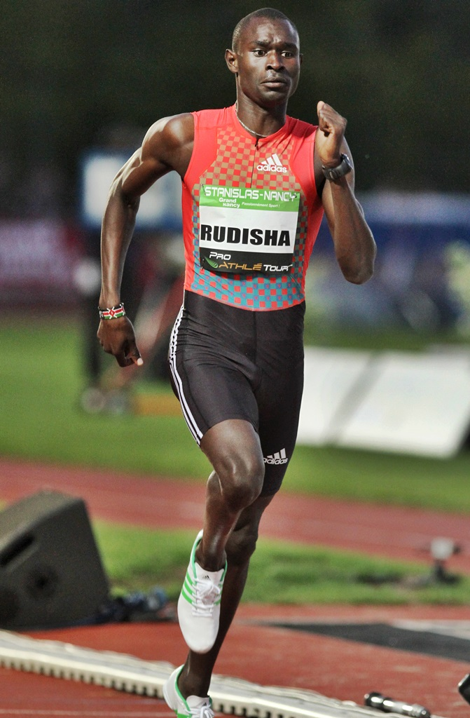 David Rudisha - Nancy 2012