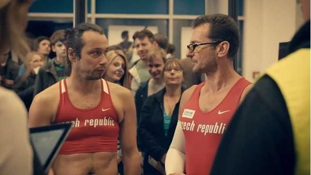Un spot pub humoristique pour faire venir les Tchèques au Championnat d'Europe indoor