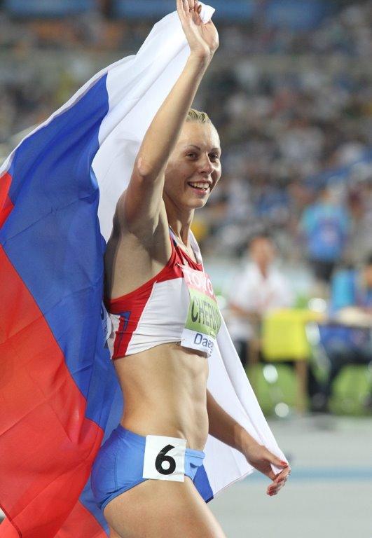 Tatyana Chernova, une athlète russe de plus sanctionnée pour dopage