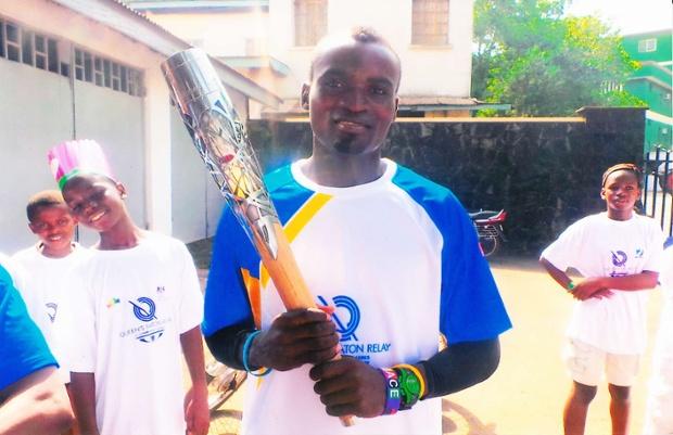 Jimmy Thoronka aux Commonwealth Games en Ecosse avant de devenir SDF dans les rues de Londres