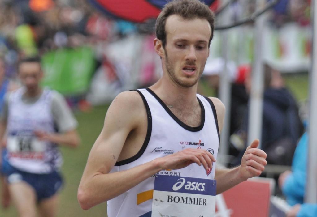Timothée Bommier 4ème au France de cross 2015