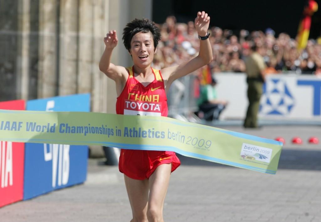 Bai Xue, championne du monde du marathon en 2009, l'une des rares performances sur cette distance pour ce pays