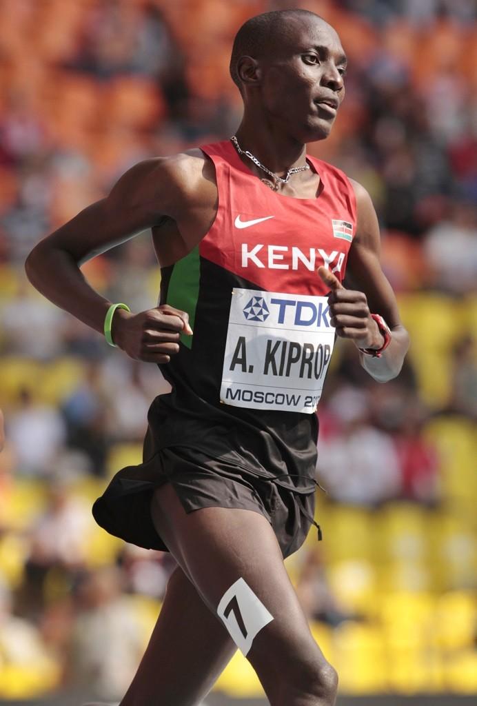 Asbel Kiprop défendra son titre à Pékin sur 1500 m