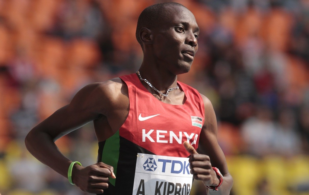 Un début de saison sur 800 m pour Asbel Kiprop