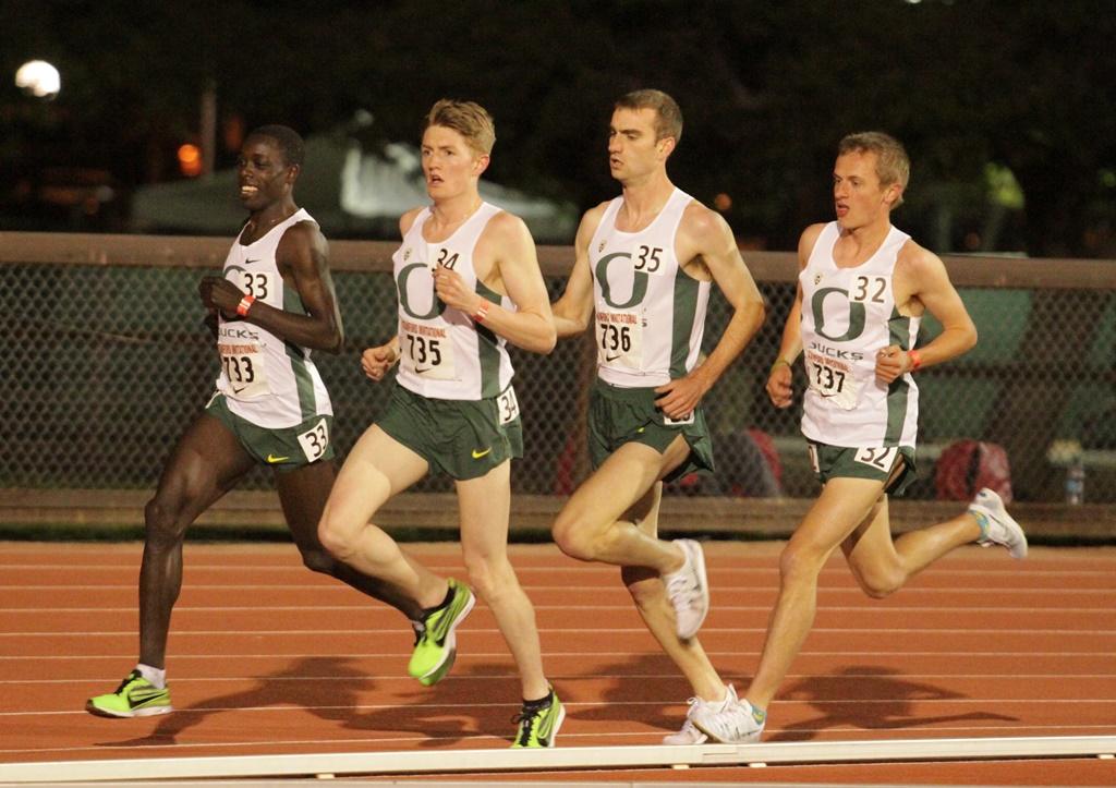 Les coureurs de l'université de Eugene dominent chaque année les compétitions NCAA