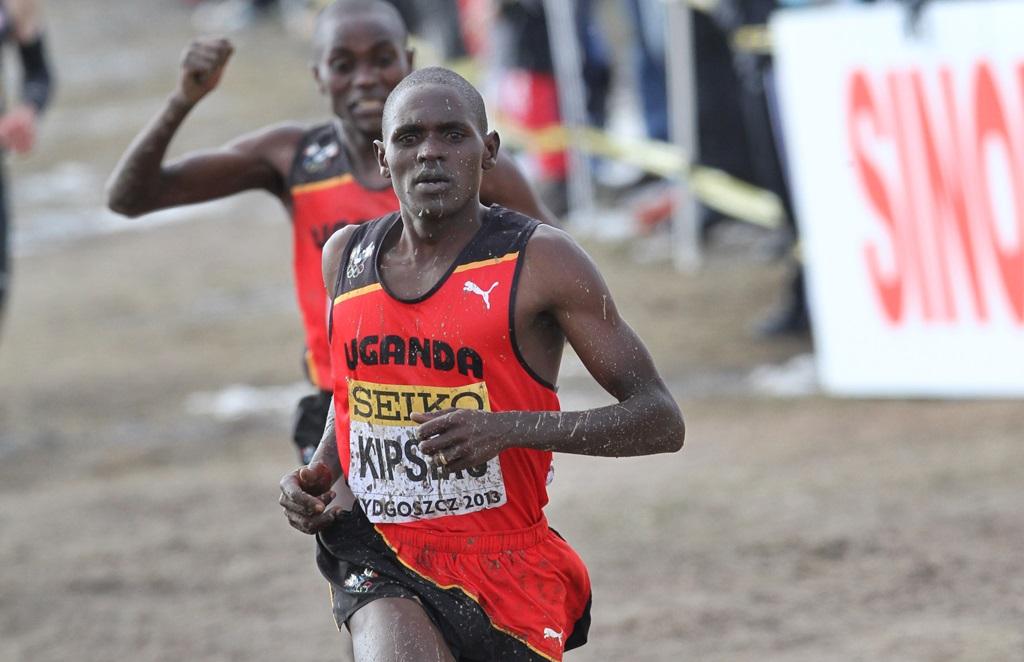 Moses Kipsiro au Mondial de cross en 2013