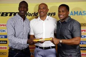 IAAF/LOC Press Conference