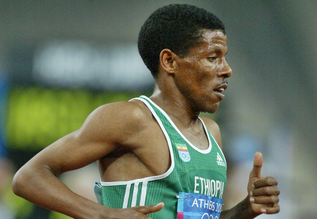 Haile Gebrselassie en maître du demi fond pendant 10 ans puis du marathon jusqu'en 2009