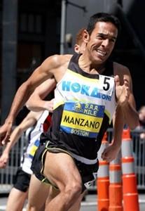Leo Manzano, le fer de lance de la marque dans le milieu du demi fond et de l'athlé aux Etats Unis