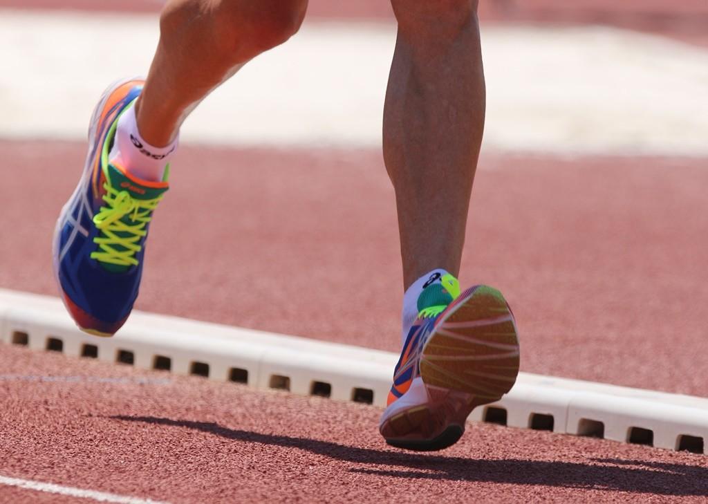 chaussures de marche athletique asics