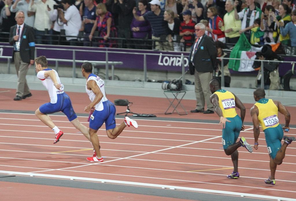 Les Français devront encore patienter pour récupérer la médaille de bronze qui leur revient après la disqualification des Etats-Unis