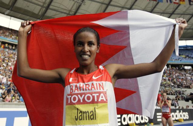 Maryam Yusuf Jamal a été la première Ethiopienne à représenter le Bahrein, elle y ramené un titre mondial et une médaille de bronze aux JO de Londres