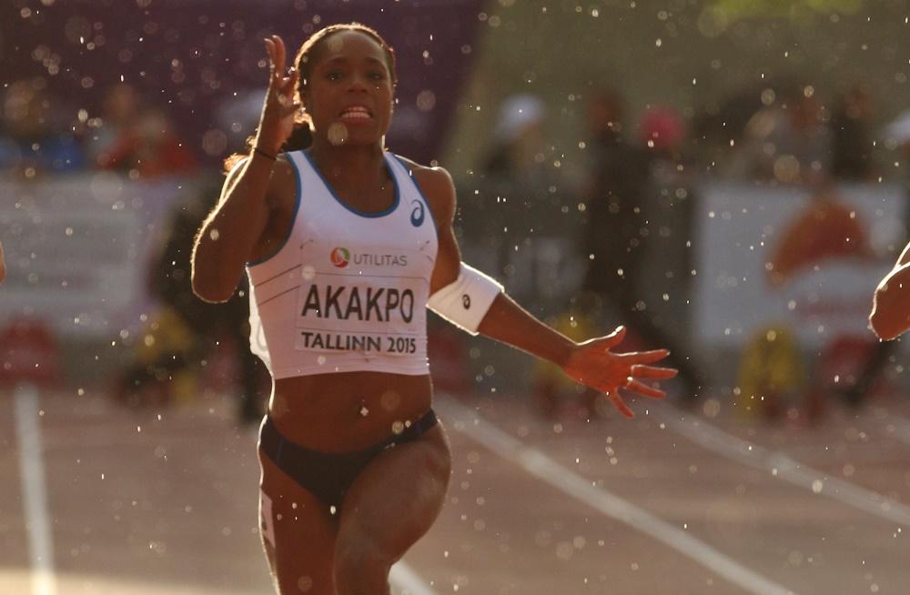 Belle accélération de Stella Akakpo pour remporte le bronze à Tallinn