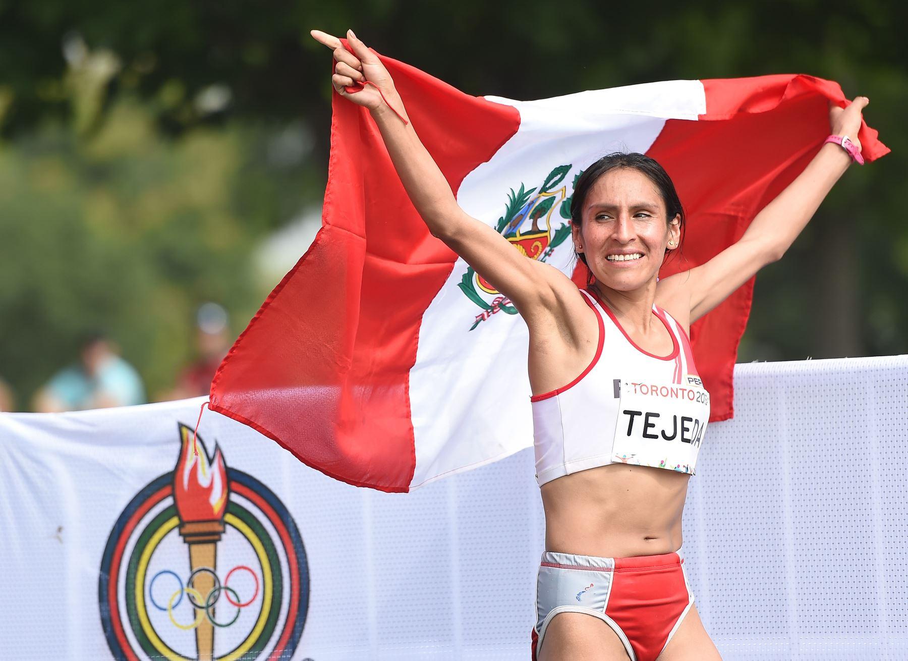 Gladys Tejeda, contrôlée positive après sa victoire au marathon des Jeux Pan Américains de Toronto