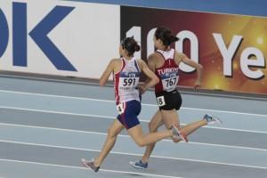 Hind Dehhiba et Asli Cakir, au coude à coude au Mondial d'Istanbul en 2012