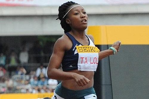 Marie Josée Ta Lou s'affirme et remporte le 100 et le 200 m des Jeux d'Afrique (photo IAAF)