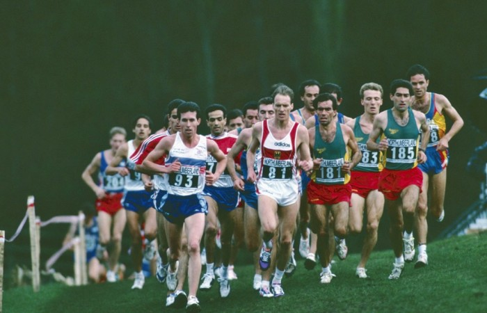 1994, les Europe de cross au château d'Harry Potter