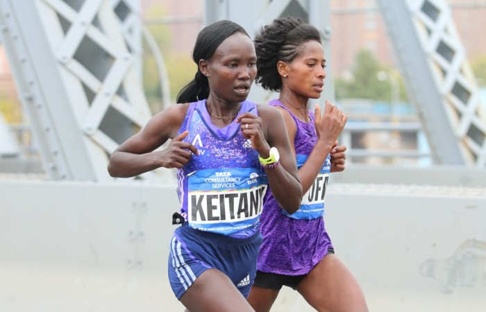 Mary Keitany, double victoire à New York pour Gabriele Nicola