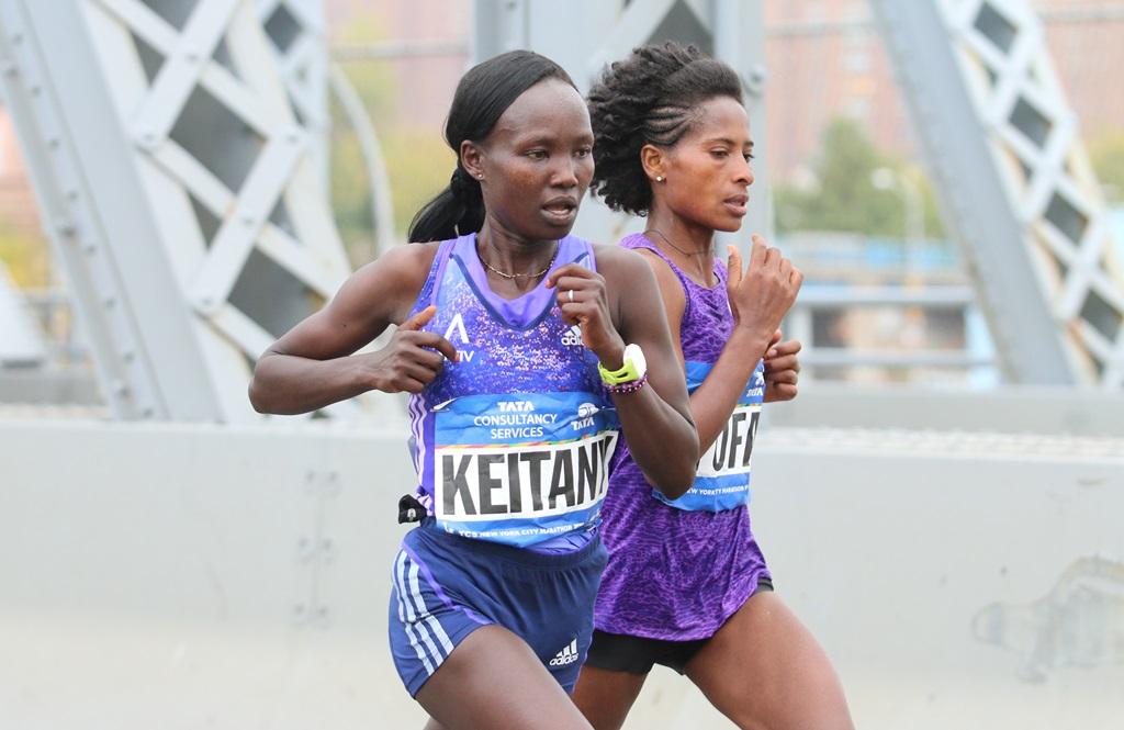 Mary Keitany, à nouveau victorieuse