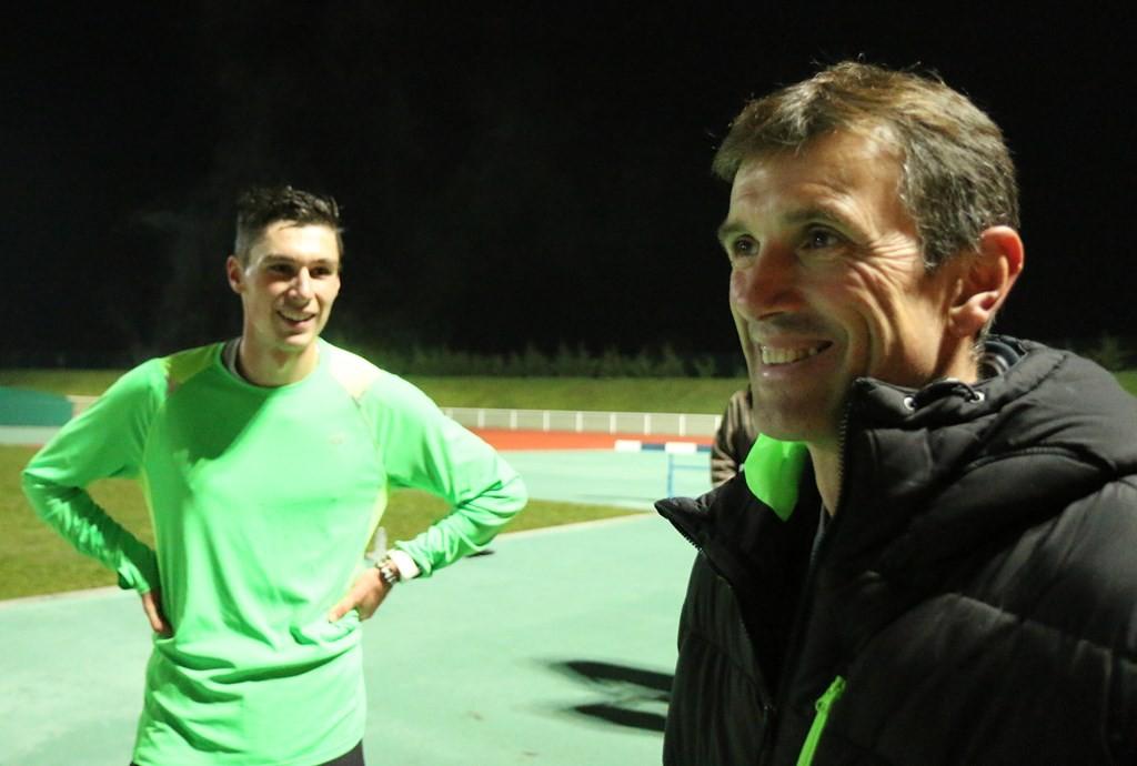Rémy Geoffroy en compagnie d'Alexis Miellet