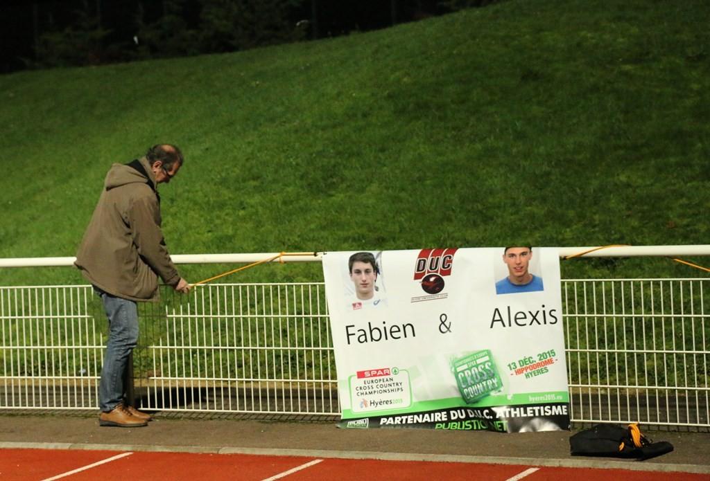 Tout le DUC se mobilisera  pour encourager Alexis Miellet et Fabien Palcau qualifiés pour les Europe de cross