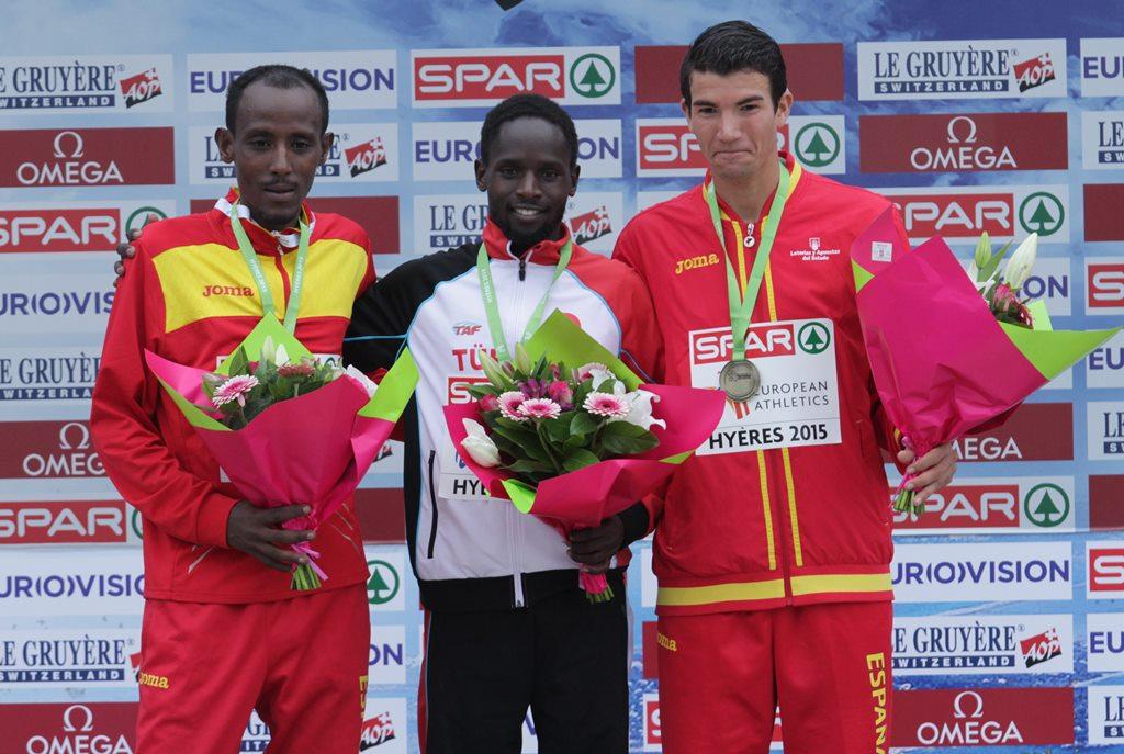 Espagne podium
