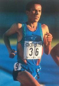 H. Lahssini à Milan en 1996