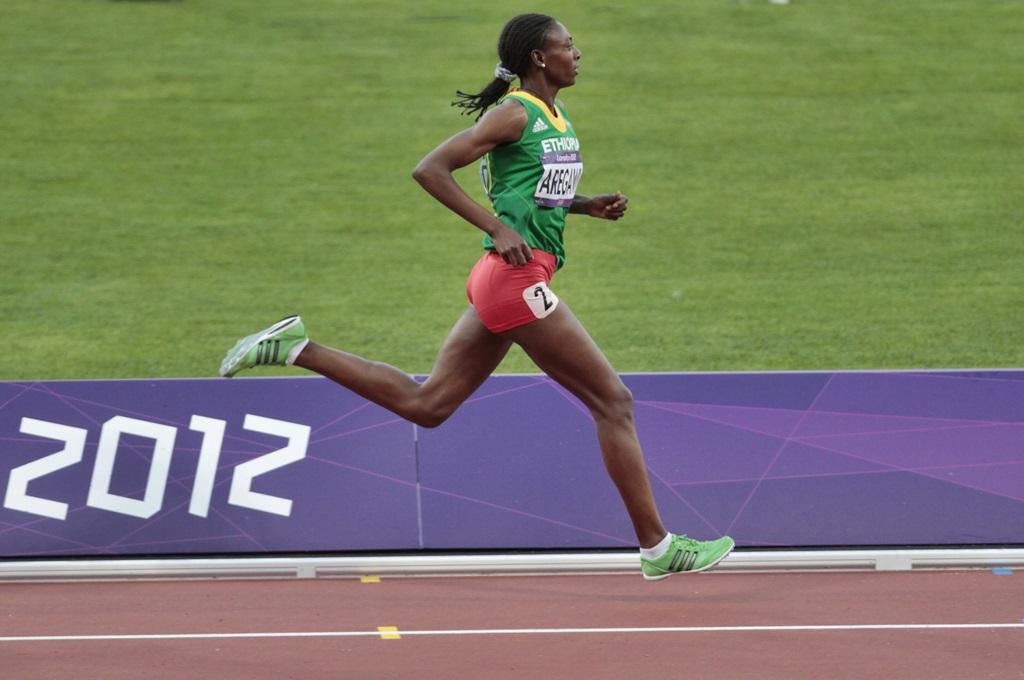 L'Ethiopiene Aregawi qui vient juste de tomber pour dopage