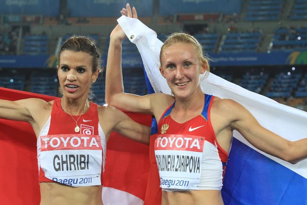 A Daegu, la tunisienne Ghribi avec la russe Zaripova