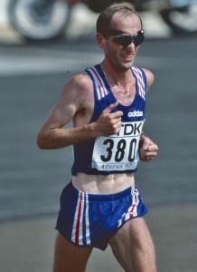 Pascal Zilliox à Athènes en 1997 lors du Mondial