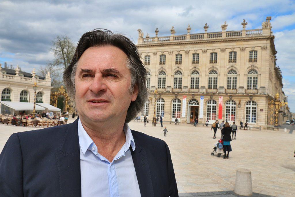 Pascal Thiébaut place Stanislas à Nancy