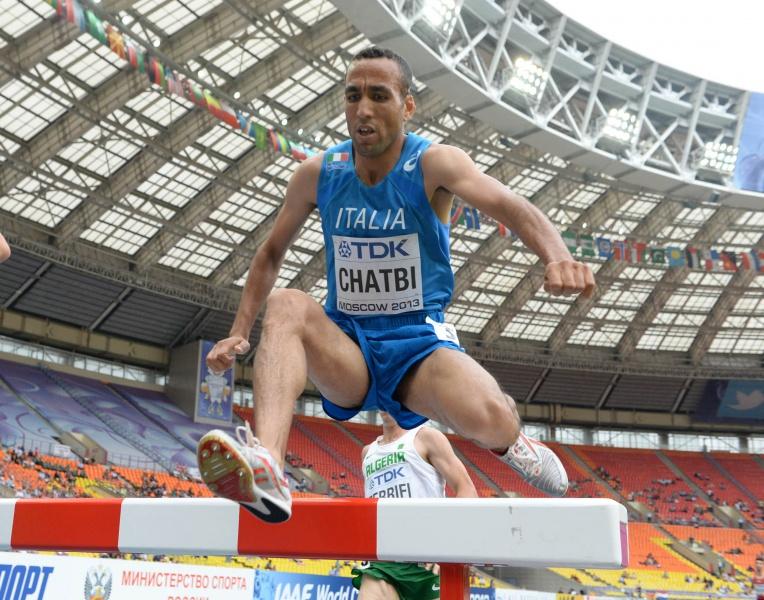 Jamel Chatbi, sorti de l'équipe olympique d'Italie, pour 3 no shows. Il avait été suspendu 3 ans sous le maillot du Maroc