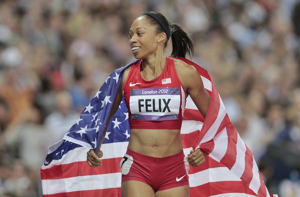 Allyson Felix qualifiée pour ses 4èmes J.O.