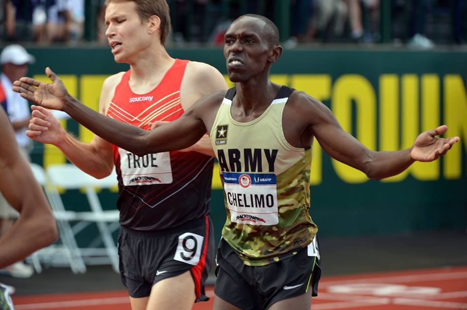 Paul Chelimo qualifié sur 10 000 mètres